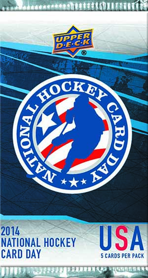 2014 Upper Deck National Hockey Card Day Info, Checklist ...
