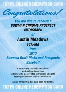 Breaking Down the 2013 Bowman Chrome Draft Prospect Autographs Checklist 3