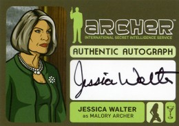 2014 Cryptozoic Archer Seasons 1-4 Autographs Guide 1
