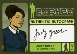 2014 Cryptozoic Archer Seasons 1-4 Autographs Guide 13