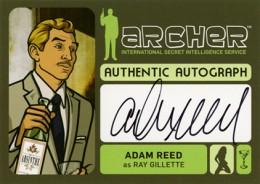 2014 Cryptozoic Archer Seasons 1-4 Autographs Guide 6