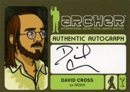 2014 Cryptozoic Archer Seasons 1-4 Autographs Guide 14