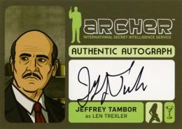 2014 Cryptozoic Archer Seasons 1-4 Autographs Guide 7