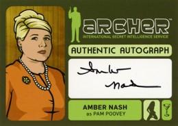 2014 Cryptozoic Archer Seasons 1-4 Autographs Guide 9
