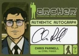 2014 Cryptozoic Archer Seasons 1-4 Autographs Guide 2