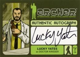 2014 Cryptozoic Archer Seasons 1-4 Autographs Guide 3