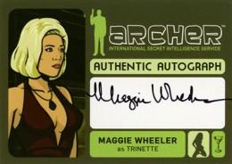 2014 Cryptozoic Archer Seasons 1-4 Autographs Guide 11