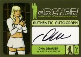 2014 Cryptozoic Archer Seasons 1-4 Autographs Guide 4