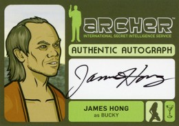 2014 Cryptozoic Archer Seasons 1-4 Autographs Guide 5