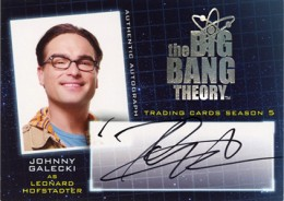 2013 Cryptozoic Big Bang Theory Season 5 Autograhs A1