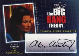2013 Cryptozoic Big Bang Theory Season 5 Autographs Guide 20