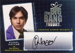 2013 Cryptozoic Big Bang Theory Season 5 Autographs Guide 12