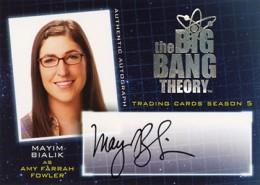 2013 Cryptozoic Big Bang Theory Season 5 Autographs Guide 3