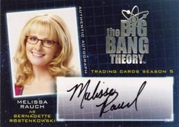 2013 Cryptozoic Big Bang Theory Season 5 Autographs Guide 13