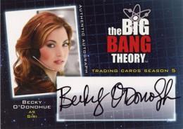 2013 Cryptozoic Big Bang Theory Season 5 Autographs Guide 14