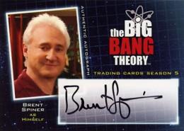 2013 Cryptozoic Big Bang Theory Season 5 Autographs Guide 5