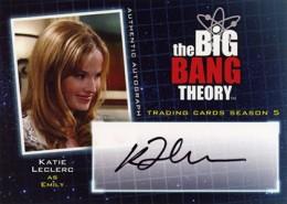 2013 Cryptozoic Big Bang Theory Season 5 Autographs Guide 9