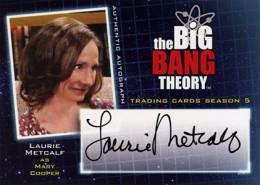 2013 Cryptozoic Big Bang Theory Season 5 Autographs Guide 10