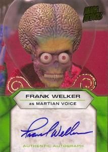 Martian Ink: 2013 Topps Mars Attacks Invasion Autographs Guide 22