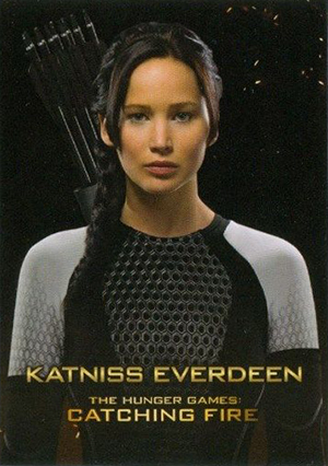 2013 NECA The Hunger Games: Catching Fire Trading Cards 25