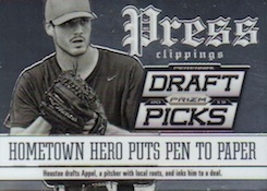 2013 Panini Prizm Perennial Draft Picks Baseball Cards 30