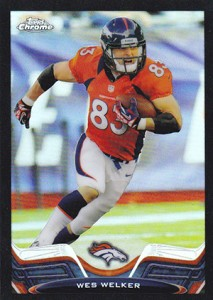 2013 Topps Chrome Football Variation Short Prints Guide 65