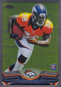 2013 Topps Chrome Football Variation Short Prints Guide 7