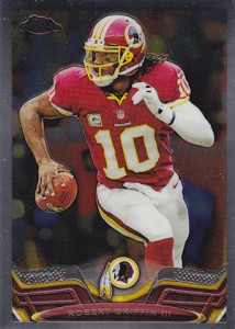 2013 Topps Chrome Football Variation Short Prints Guide 71