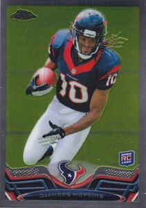 2013 Topps Chrome Football Variation Short Prints Guide 79