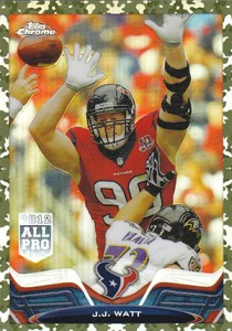 2013 Topps Chrome Football Variation Short Prints Guide 81