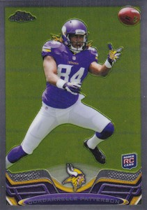 2013 Topps Chrome Football Variation Short Prints Guide 13