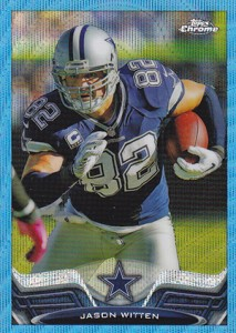 2013 Topps Chrome Football Variation Short Prints Guide 95