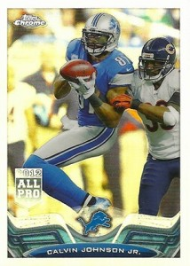 2013 Topps Chrome Football Variation Short Prints Guide 99