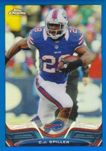 2013 Topps Chrome Football Variation Short Prints Guide 29