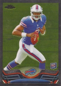 2013 Topps Chrome Football Variation Short Prints Guide 35