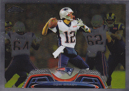 2013 Topps Chrome Football Variation Short Prints Guide 37