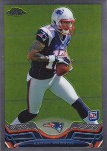 2013 Topps Chrome Football Variation Short Prints Guide 43