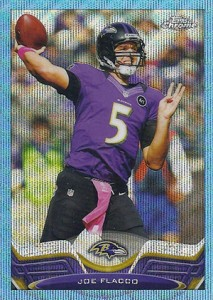 2013 Topps Chrome Football Variation Short Prints Guide 53