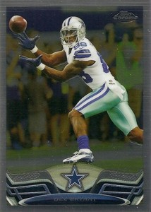 2013 Topps Chrome Football Variation Short Prints Guide 57