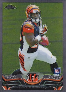 2013 Topps Chrome Football Variation Short Prints Guide 59