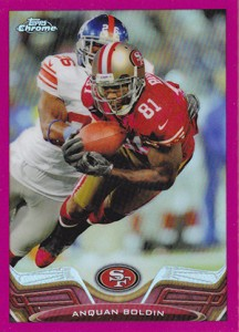 2013 Topps Chrome Football Variation Short Prints Guide 73