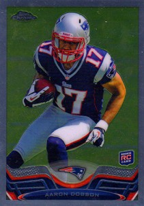 2013 Topps Chrome Football Variation Short Prints Guide 44