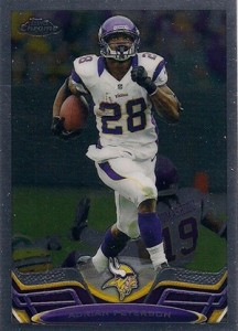 2013 Topps Chrome Football Variation Short Prints Guide 62