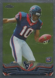 2013 Topps Chrome Football Variation Short Prints Guide 80