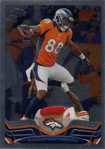 2013 Topps Chrome Football Variation Short Prints Guide 34