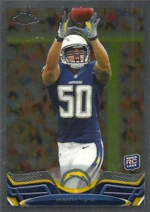 2013 Topps Chrome Football Variation Short Prints Guide 42