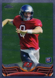 2013 Topps Chrome Football Variation Short Prints Guide 108