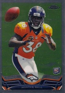 2013 Topps Chrome Football Variation Short Prints Guide 8