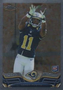 2013 Topps Chrome Football Variation Short Prints Guide 70