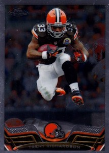 2013 Topps Chrome Football Variation Short Prints Guide 86
